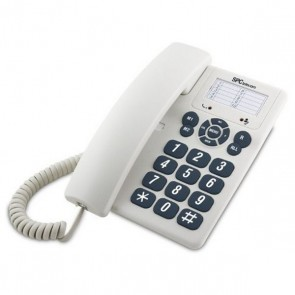 Telefono Fisso SPC 3602 Bianco