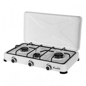 fornello a gas COMELEC GC5113 Bianco (3 Fornelli)