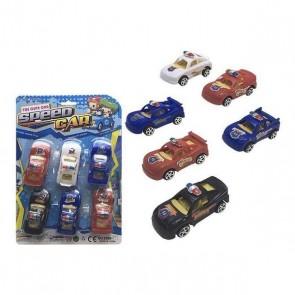 Playset di Veicoli Speed Car (6 pcs)