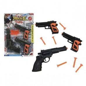 Pistola a Freccette Soft Bullet Gun Nero (3 Pcs)