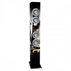 Casse a Colonna con Microfono Karaoke iWown 4 x 3W USB/SD/MMC
