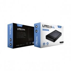 """Scatola Esterna NOX NXLITEHDD35 3,5"""" USB 3.0 Nero"""