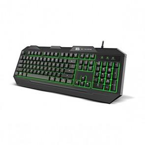 Tastiera per Giochi BG BGFOX LED RGB Nero