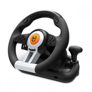 Volante da Corsa Krom NXKROMKWHL USB Nero