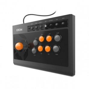 Gamepad Krom Kumite Nero Arancio