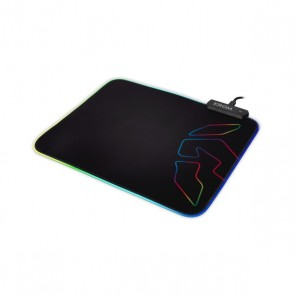 Tappetino Gaming con Illuminazione LED Krom Knout RGB (32 x 27 x 0,3 cm) Nero