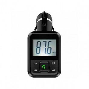 Lettore MP3 e Trasmettitore FM Bluetooth per Auto BSL BSL-24 Auricolare Nero