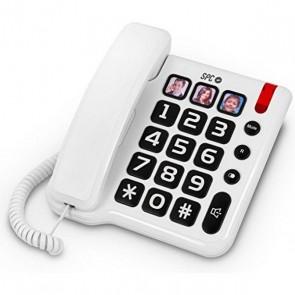 Telefono Fisso per Anziani SPC 3294 Bianco