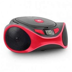 Radio CD MP3 SPC 4501R CLAM BOOMBOX USB Rosso