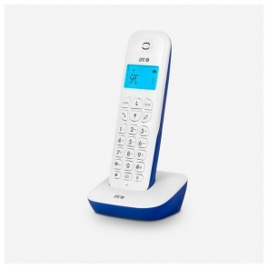 Telefono Senza Fili SPC Air 7300A DECT Bianco Azzurro