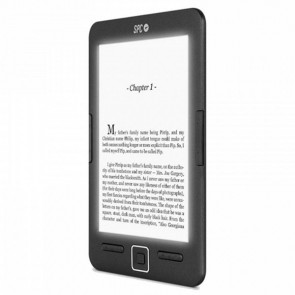 "eBook SPC 5609N DICKENS LIGHT 6"" E-INK 8 GB Nero"