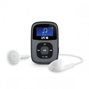 Riproduttore MP3 SPC Sparrow 8648N 8GB RADIO WAV WMA Nero