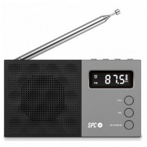 Radio Transistor SPC 4577N FM LCD Nero