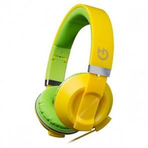 Auricolari con Microfono Hiditec COOL KIDS WHP010006 Giallo