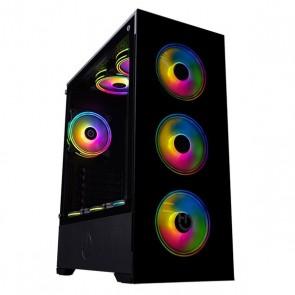 Casse Semitorre Micro ATX / ATX Hiditec CHA010023 RGB LED