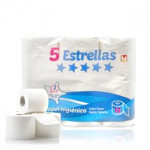 Carta Igienica 5 Estrellas (Pacco da 12)