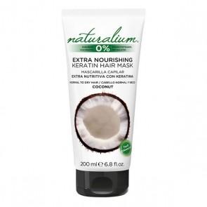 Maschera per Capelli Nutriente Coconut Keratin Naturalium (200 ml)