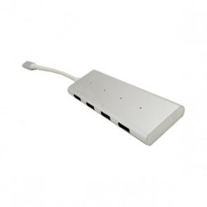 Hub USB CoolBox COO-HUC4U3 Bianco (4 porte)