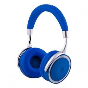 Cuffie Pieghevoli con Bluetooth CoolBox COO-AUB-12BL 300 mAh Azzurro