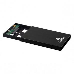 Involucro per Hard Disk CoolBox COO-SCA-2512 Nero