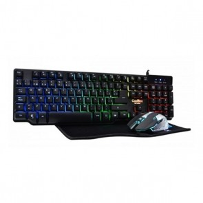 Tastiera e Mouse Gaming CoolBox COO-DGKTR09 LED Nero