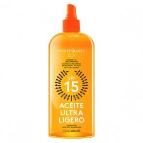 Olio Solare Carrot Suntan Mediterraneo Sun SPF 15 (200 ml)