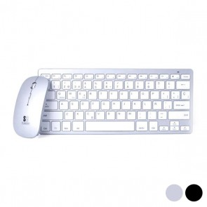 Tastiera e Mouse Wireless Subblim Dynamic Compact BLUETOOTH 3.0
