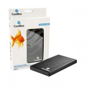 "Scatola Esterna CoolBox CAJCOOHD2502 2,5"" SATA USB 2.0 Nero"