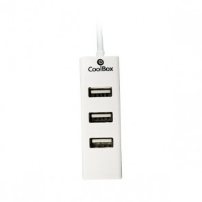 Hub USB 3 Porte CoolBox HUBCOO190 Bianco