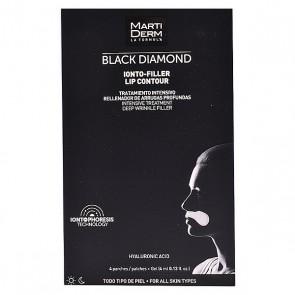 Trattamento Antietà per Contorno Labbra Black Diamond Martiderm (4 pcs)