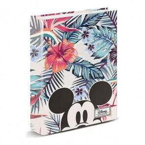 Raccoglitore ad anelli Mickey Mouse (33 x 28 x 5 cm)