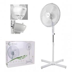 Ventilatore a Piantana Kiwi 45W (Ø 40 cm) Bianco