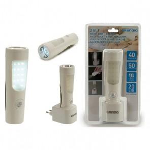 Luce Antibuio Grundig LED (10 x 17 x 6 cm)