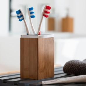 Portaspazzolini da Denti Bamboo