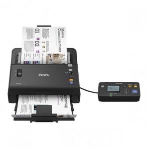 Scanner Fronte Retro Epson DS-860N 300 dpi USB LAN Nero