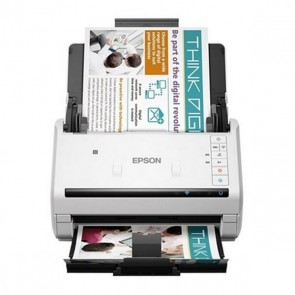 Scanner Fronte Retro Epson WorkForce DS-570W 600 dpi WIFI LAN Bianco