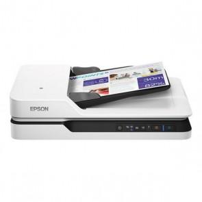 Scanner Wi-Fi Fronte Retro Epson WorkForce DS-1660W 1200 dpi LAN Bianco