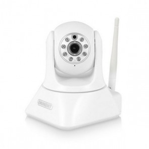 Fotocamera IP Eminent CamLine Pro EM6325 HD 720p 70° IR LED x 8 Wifi iOS Android Bianco