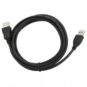 Cavo Prolunga USB GEMBIRD CCP-USB2-AMAF-6n (1,8 m) Nero