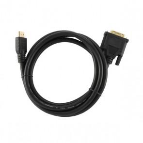 Cavo HDMI a DVI GEMBIRD CC-HDMI-DVI-6 1,8 m Nero