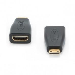 Adattatore Mini HDMI con HDMI GEMBIRD A-HDMI-FC Nero