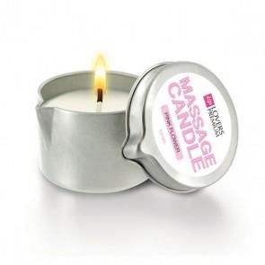 Candela per Massaggio al Fiore Rosa LoversPremium E22038