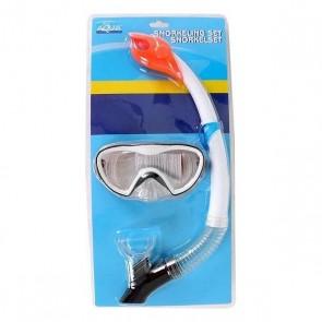Occhialini da Snorkeling e Boccaglio Bianco