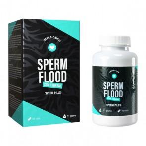 Compresse per Migliorare la Qualità dello Sperma Sperm Flood Devils Candy
