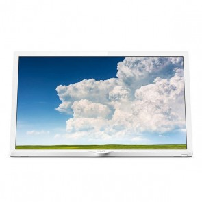 "Televisione Philips 24PHS4354 24"" HD+ LED USB 2.0 Bianco"