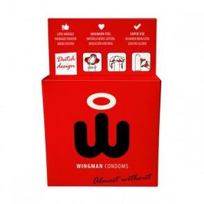 Preservativi Wingman 3 Unità Wingman E24696
