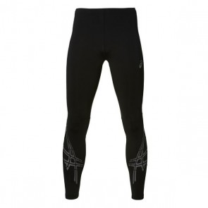 Leggings Sportivi da Uomo Asics Stripe Tight Nero