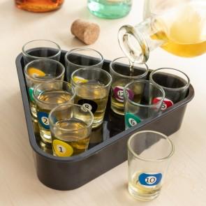 Set di Bicchierini da Chicchetto Billiards 11 Pezzi