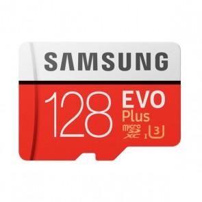 Scheda Micro SD Samsung EVO Plus MB-MC128G 128 GB Rosso Bianco