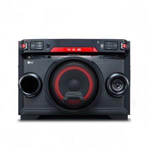 Mini impianto Stereo LG OK45 220W Bluetooth Nero Rosso